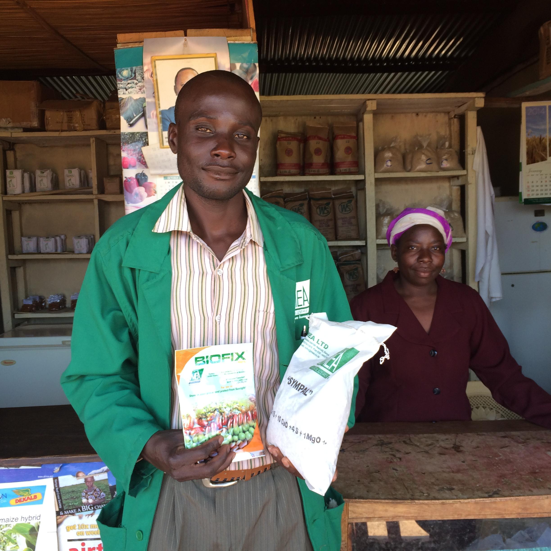 Stephen Kasamani from Mudifesof Assn. in Kenya