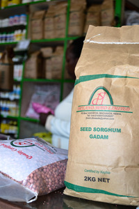 USAID-KHCP partner Dry land seeds adapted to dry land conditions certified by KEPHIS